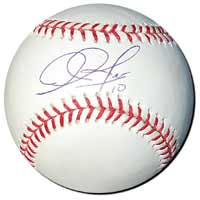 Adam Jones Autographed Major League Baseball