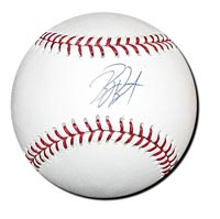 Billy Butler Autographed Baseball