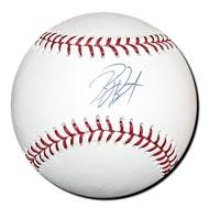 Billy Butler Autographed Baseball