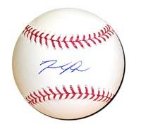 David Price Autographed Baseball