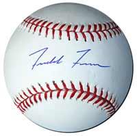 Freddie Freeman Autographed Baseball