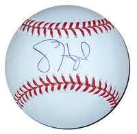 Jason Heyward Autographed Baseball
