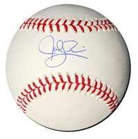 Jed Lowrie Autographed Major League Baseball
