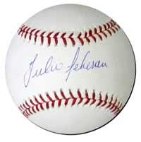 Julio Teheran Autographed Baseball