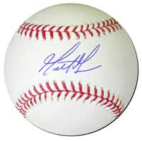 Matt Moore Autographed Major League Baseball