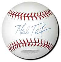 Mark Teixeira Autographed Major League Baseball