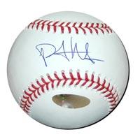 Philip Hughes Autographed Baseball
