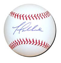 Yovani Gallardo Autographed Baseball