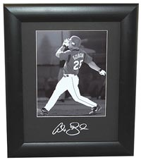 Alex Gordon Autographed 11x14 Frame Mat (frame optional)