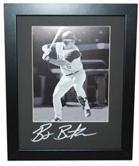 Billy Butler Autographed 11x14 Frame Mat (frame optional)