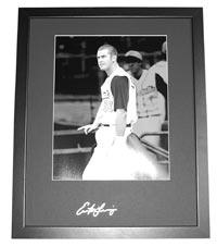 Evan Longoria Autographed 16x20 Frame Mat (frame optional)