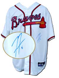 Freddie Freeman Autographed Atlanta Braves Replica White Jersey (no number or name on back)