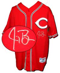 Jay Bruce Autographed Cincinnati Authentic Red Alternate Jersey (no number or name on back)