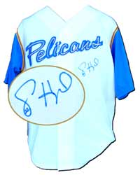 Jason Heyward Autographed Myrtle Beach Pelicans Replica Jersey (no number or name on back)