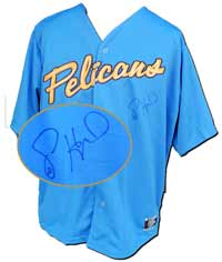 Jason Heyward Autographed Myrtle Beach Pelicans Alternate Replica Jersey (no number or name on back)