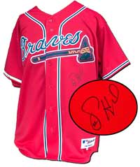 Jason Heyward Autographed Atlanta Braves Authentic Red Jersey (no name or number on back)