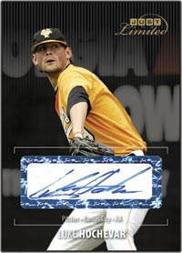 JLU06 Black Auto (#d to25) Luke Hochevar