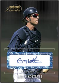 JLU06 Black Auto (#d to25) George Kottaras
