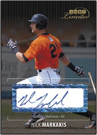 JLU06 Black Auto (#d to25) Nick Markakis