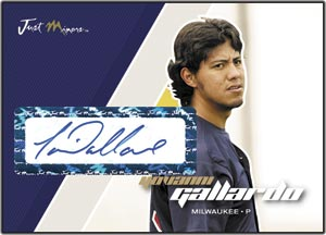 JAP07 White Auto (#'d to 200) Yovanni Gallardo