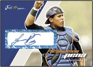 JAP07 White Auto (#'d to 200) Francisco Pena