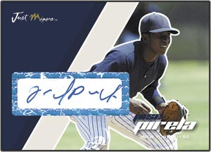 JAP07 White Auto (#'d to 200) Jose Pirela