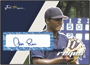 JAP07 White Auto (#'d to 200) Angel Reyes