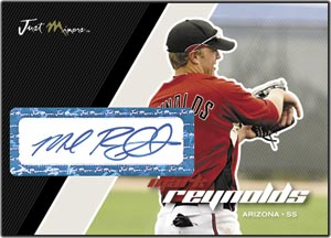 JAP07 White Auto (#'d to 200) Mark Reynolds