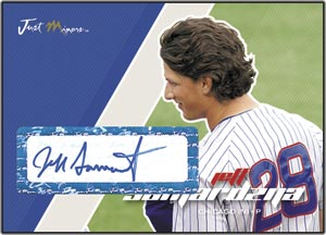 JAP07 White Auto (#'d to 200) Jeff Samardzija