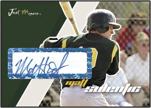 JAP07 White Auto (#'d to 200) Matt Sulentic