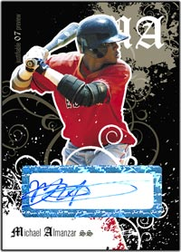 JFP07 Black Auto (#'d to 25) Michael Almanzar