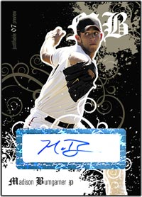 JFP07 Black Auto (#'d to 25) Madison Bumgarner
