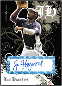 JFP07 Black Auto (#'d to 25) Jason Heyward