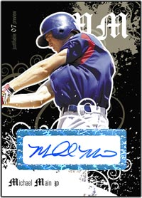 JFP07 Black Auto (#'d to 25) Michael Main