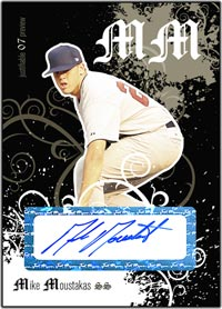 JFP07 Black Auto (#'d to 25) Mike Moustakas
