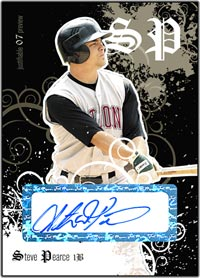 JFP07 Black Auto (#'d to 25) Steve Pearce