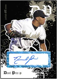 JFP07 Black Auto (#'d to 25) David Price