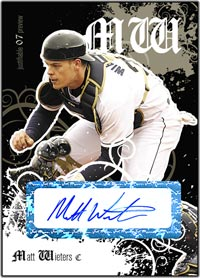 JFP07 Black Auto (#'d to 25) Matt Wieters