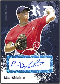 JFP07 White Auto (#'d to 200) Ross Detwiler