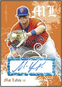 JFP07 White Auto (#'d to 200) Matt LaPorta