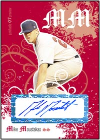 JFP07 White Auto (#'d to 200) Mike Moustakas