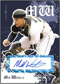 JFP07 White Auto (#'d to 200) Matt Wieters