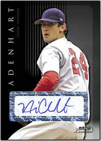 JL07 Black Auto (#'d to 25) Nick Adenhart