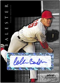 JL07 Black Auto (#'d to 25) Collin Balester