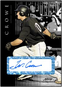 JL07 Black Auto (#'d to 25) Trevor Crowe