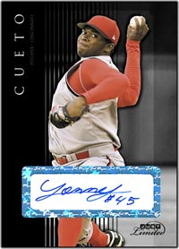 JL07 Black Auto (#'d to 25) Johnny Cueto