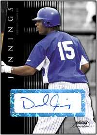 JL07 Black Auto (#'d to 25) Desmond Jennings