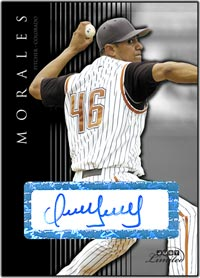 JL07 Black Auto (#'d to 25) Franklin Morales