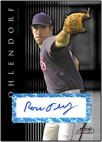 JL07 Black Auto (#'d to 25) Ross Ohlendorf