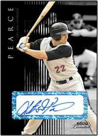 JL07 Black Auto (#'d to 25) Steve Pearce